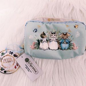 🌸NWT Beatrix Potter Peter Rabbit X LeSportSac Bag